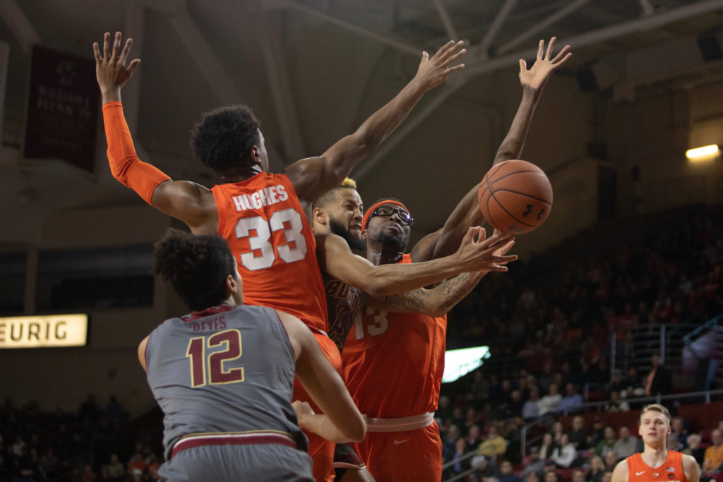 Battle, Syracuse Use First Half Run to Power Past BC