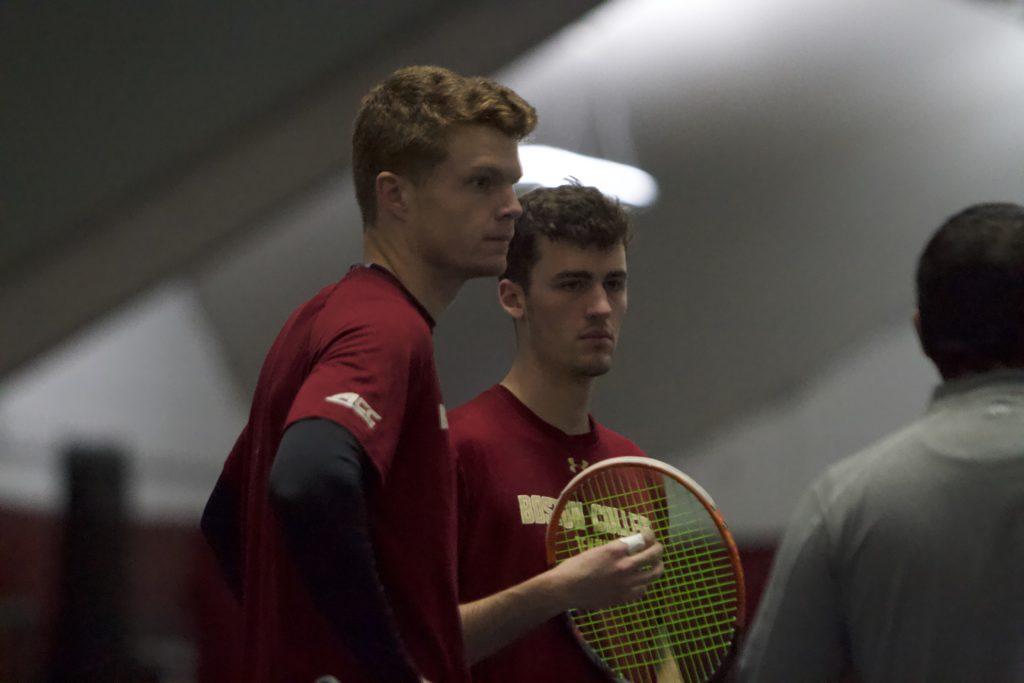 Men's Tennis Bounces Back, Sweep Past Connecticut