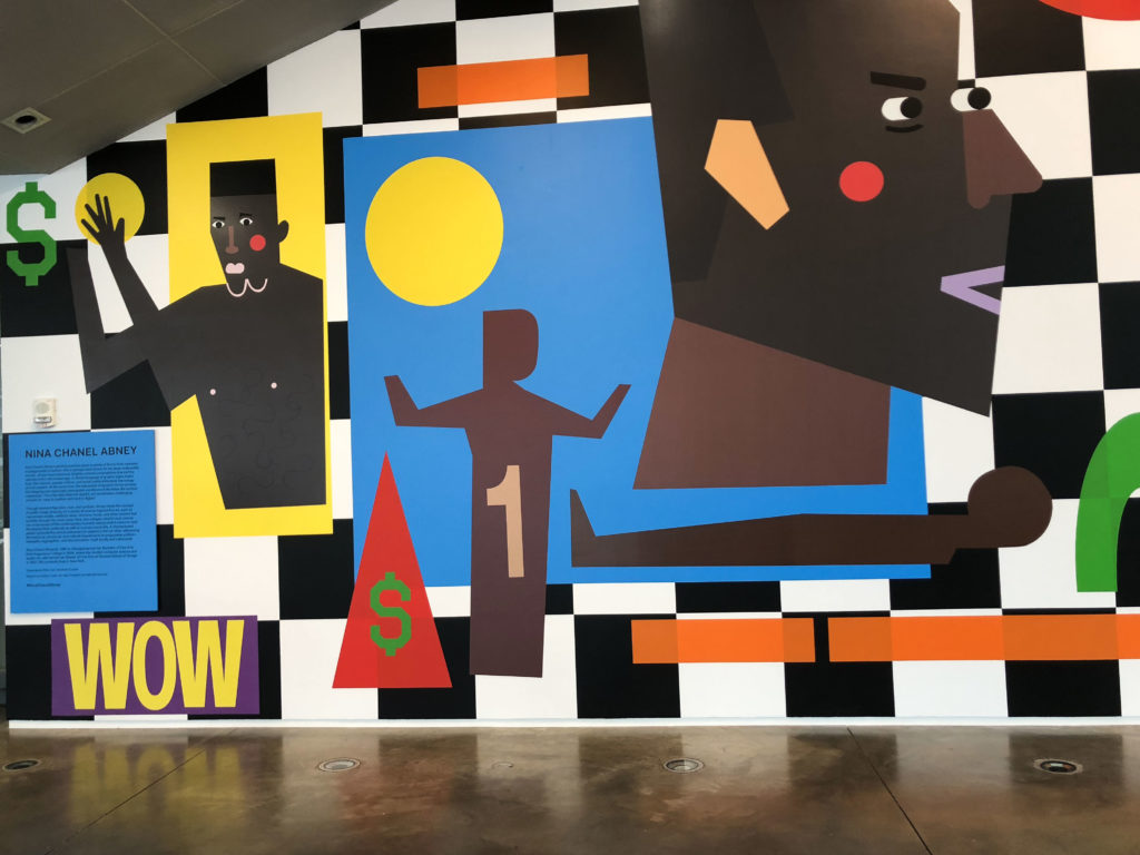 Abney's Mural Welcomes Visitors to the ICA