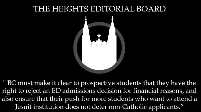 Editorial: New ED Policy Forces Students to Pick BC Over Competitors