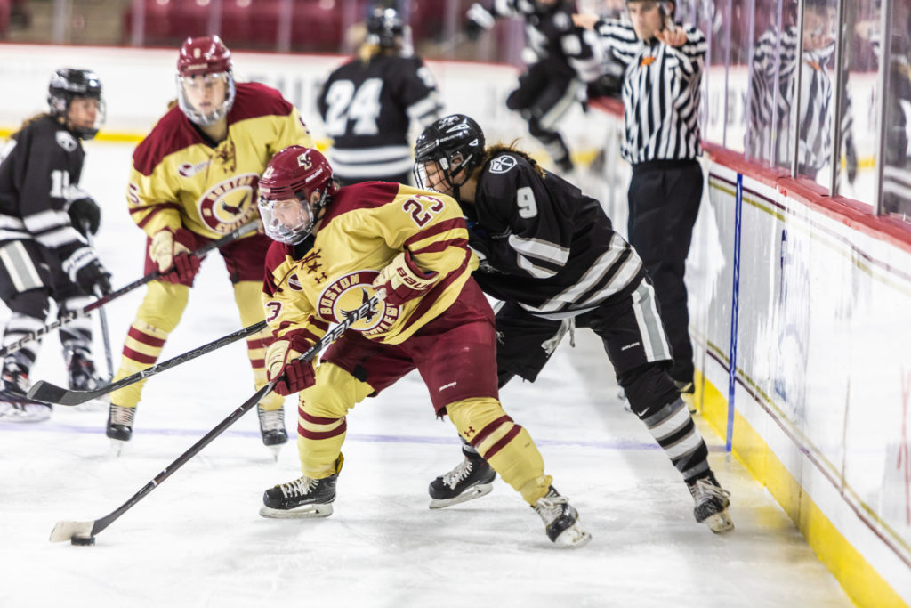 No. 9 BC Extends Win Streak to Five, Sweeps Providence