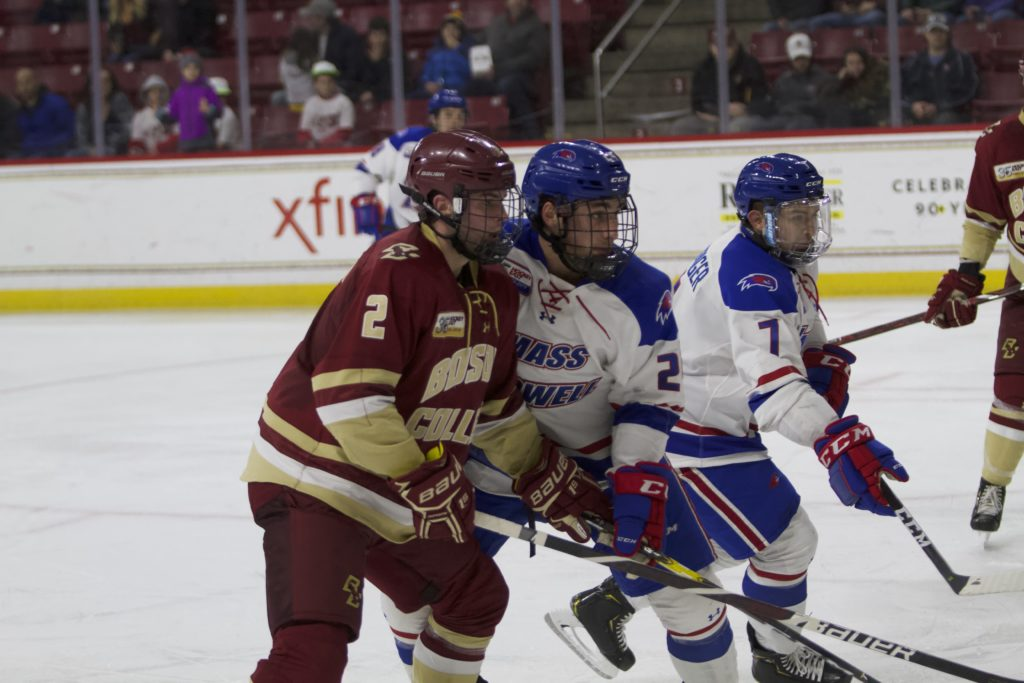 BC Falls to No. 19 UMass Lowell After Shaky Third Period