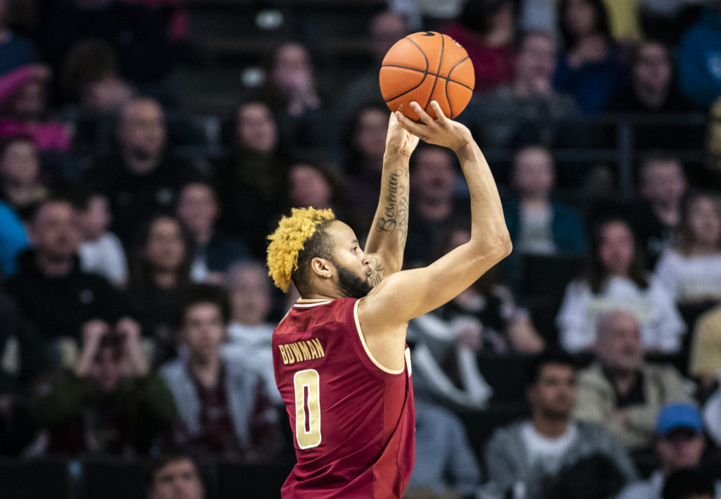 Bowman's Heroics Give Eagles Tight Win Over Wake Forest