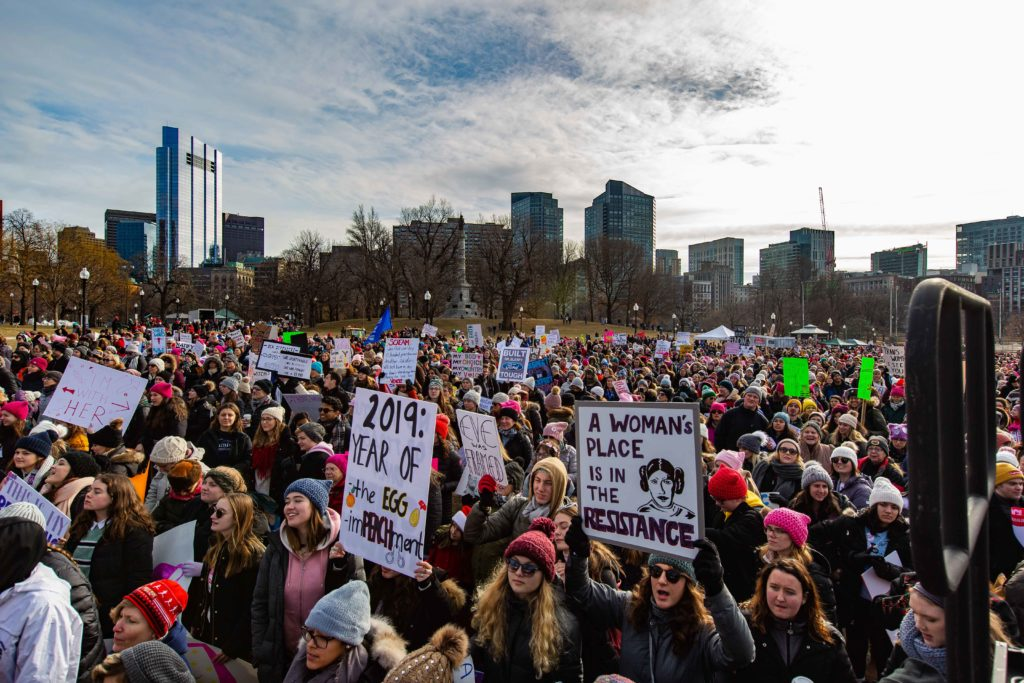 Women's Center and BC Dems Talk Women's March