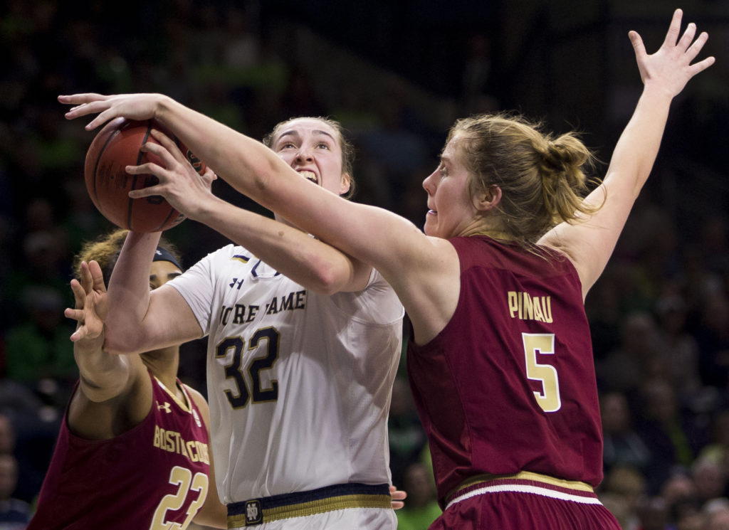 Notebook: Turnovers, Foul Trouble Doom Eagles in Notre Dame Defeat