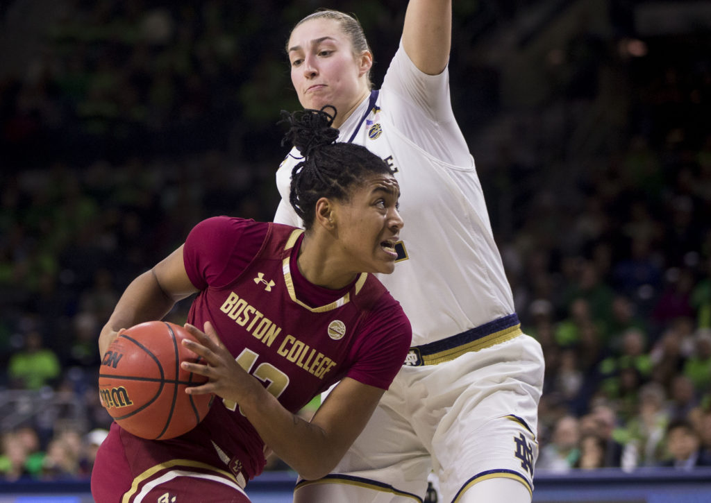 No. 1 Notre Dame Hands Eagles a 29-Point Loss in South Bend
