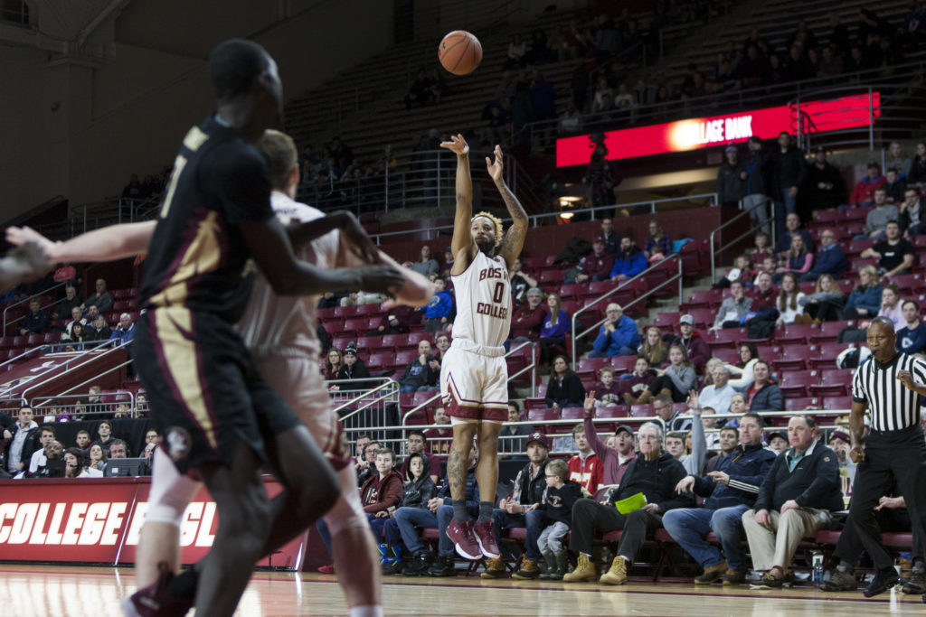 Bowman, Chatman Guide Eagles to Upset of No. 11 Florida State