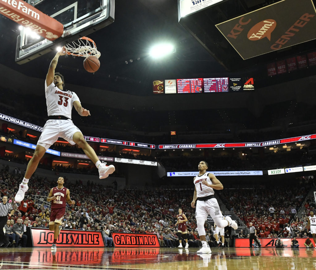 Second-Half Surge Not Enough as Eagles Fall to Louisville