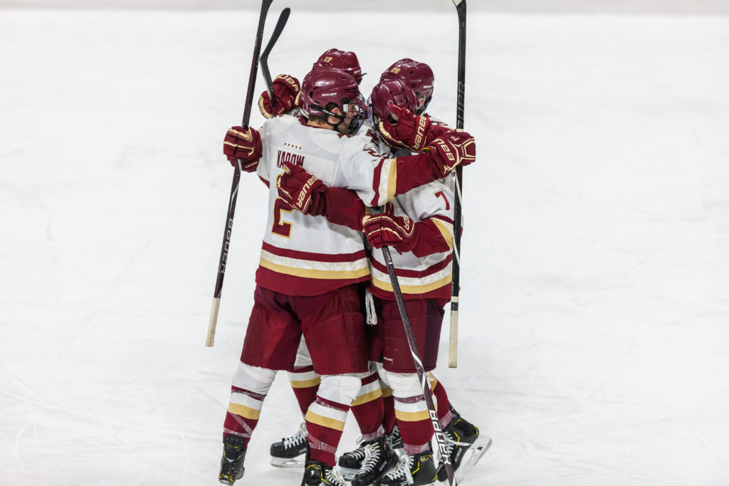 Eagles Rally Past No. 7 Providence in Return to Hockey East Play