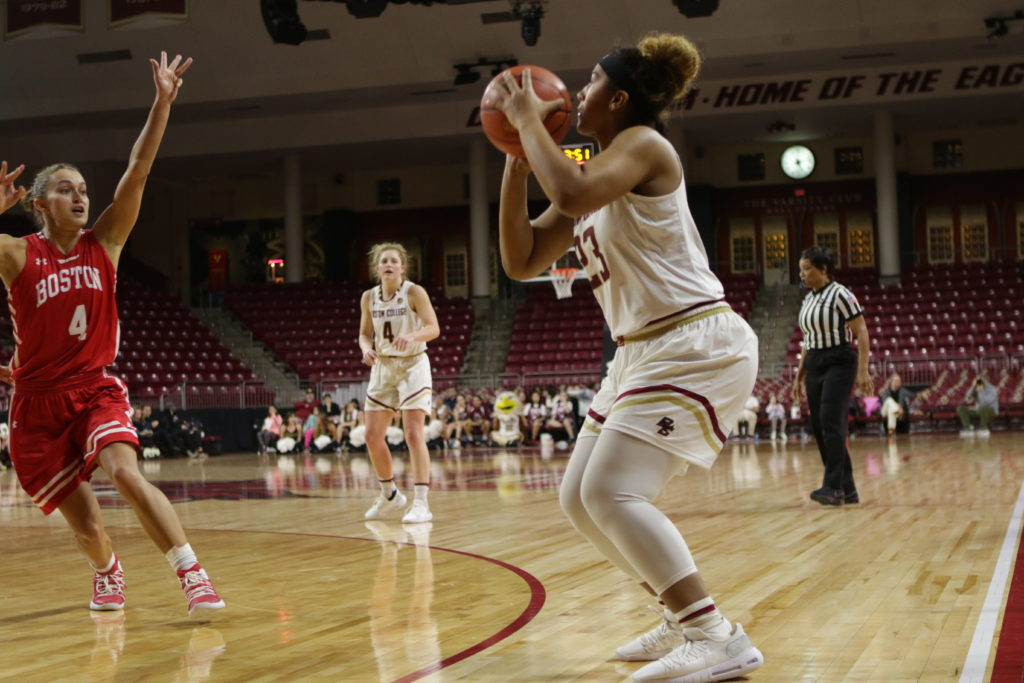 Offensive Rebounding Propels BC to Road Win Over Wake Forest