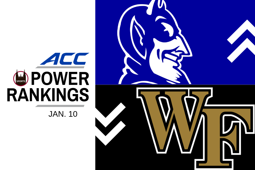 ACC Power Rankings: With Six Ranked Teams, It's Crowded up Top