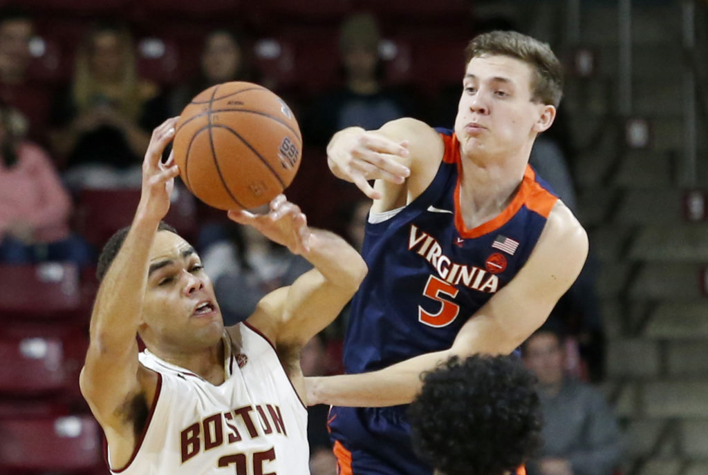 Eagles Drop Third Straight After Uninspiring Second Half Effort Against No. 4 Virginia