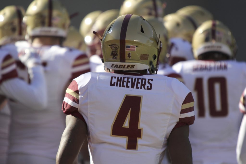 Cheevers Decides to Forgo Senior Season, Declare for 2019 NFL Draft