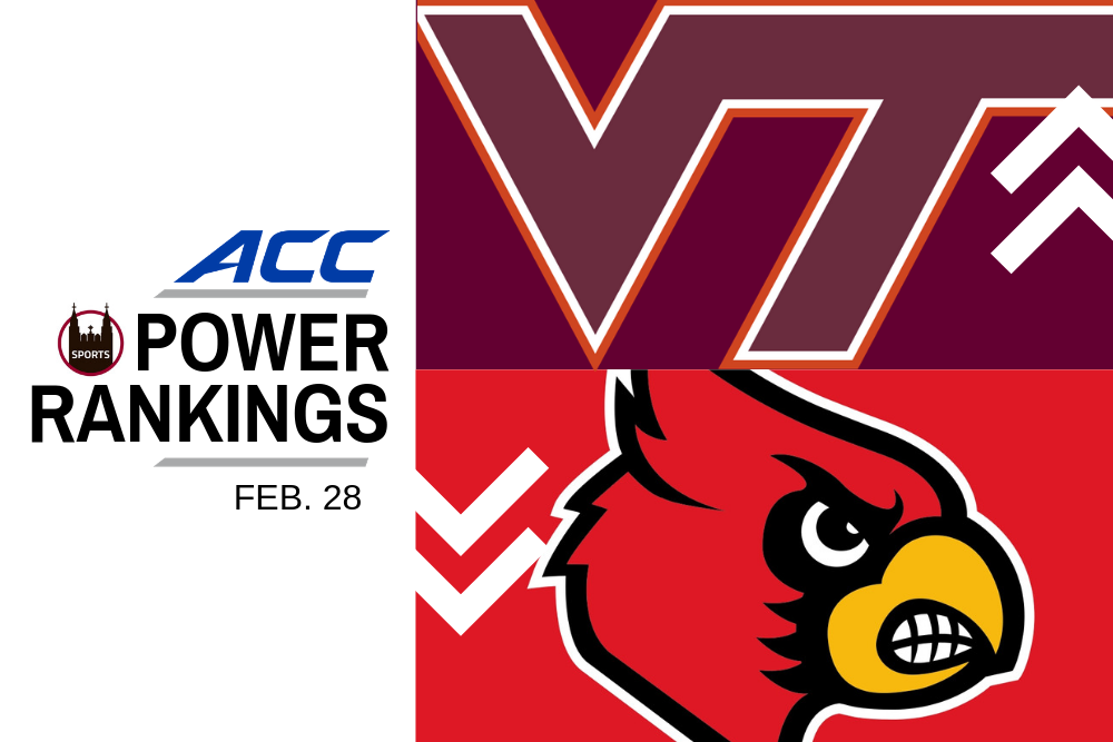 ACC Power Rankings: North Carolina, Virginia Tech in Good Form
