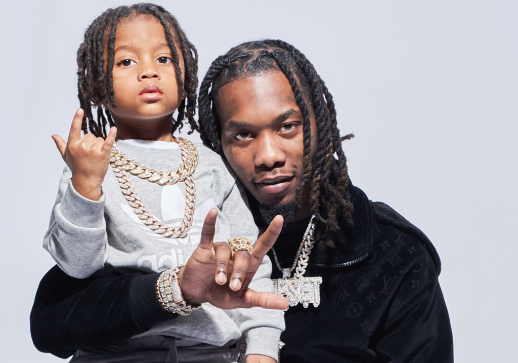 Offset Plays the Family Man in 'Father of 4'