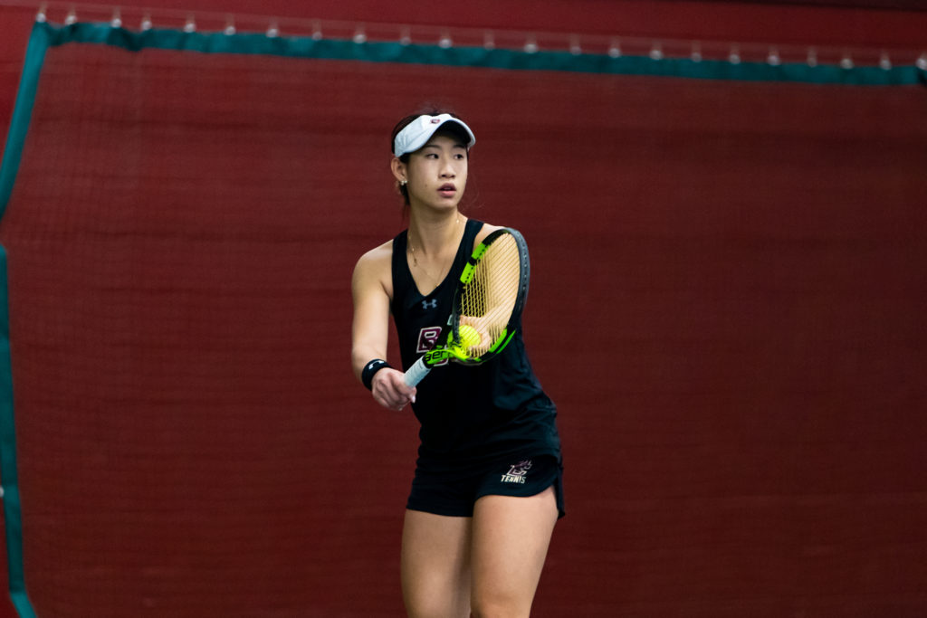 Women's Tennis Breaks Program Records, But Comes Away Winless Against Wolfpack and Tar Heels