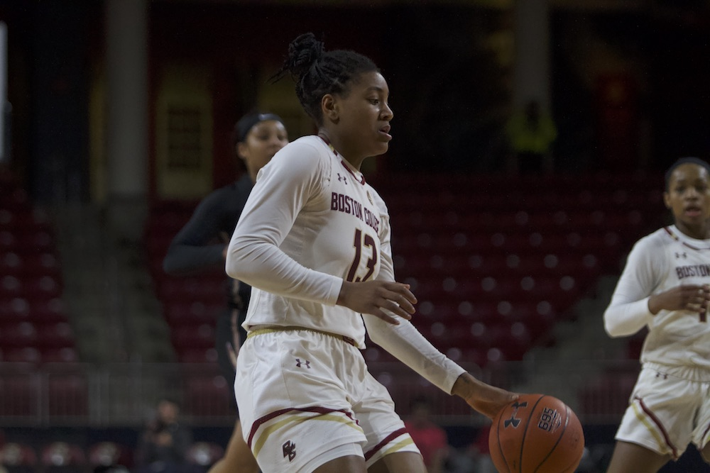 BC Allows 90-Plus Points for Fourth Straight Game, Falls to UNC