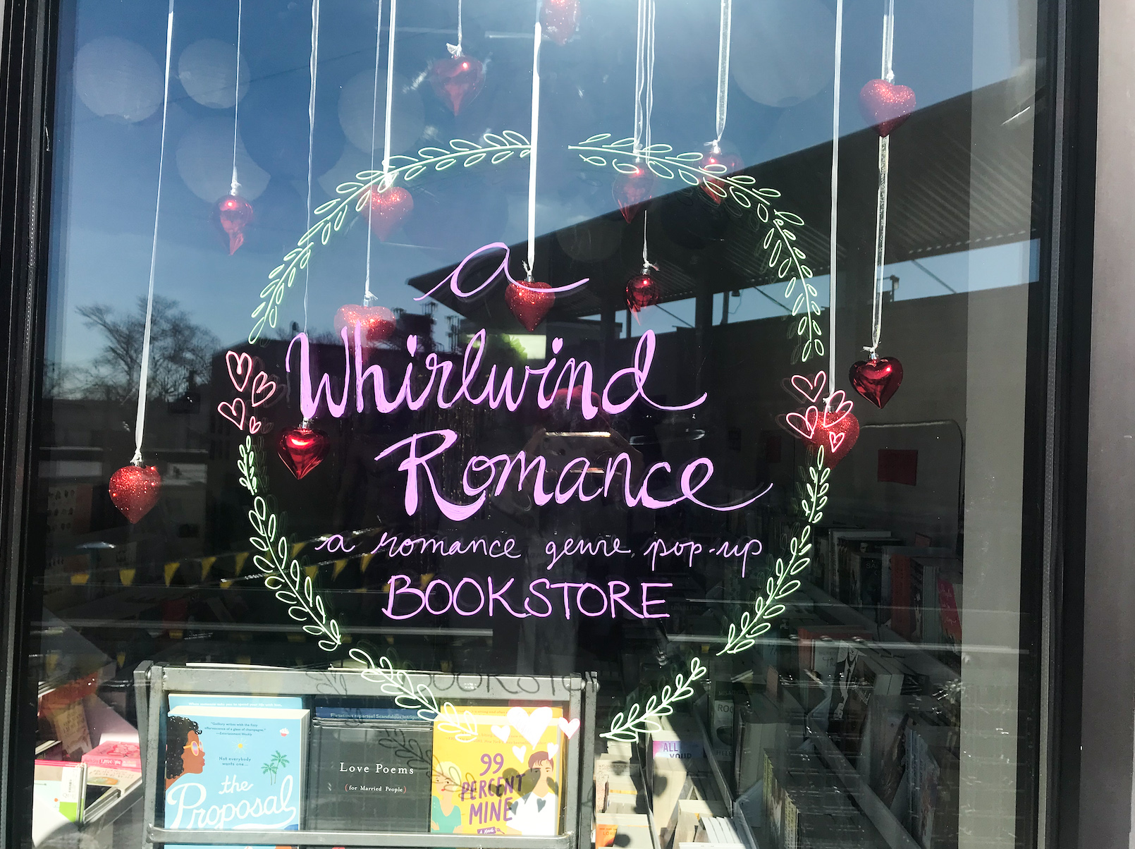 Bookworms Celebrate at Whirlwind Romance Pop-Up