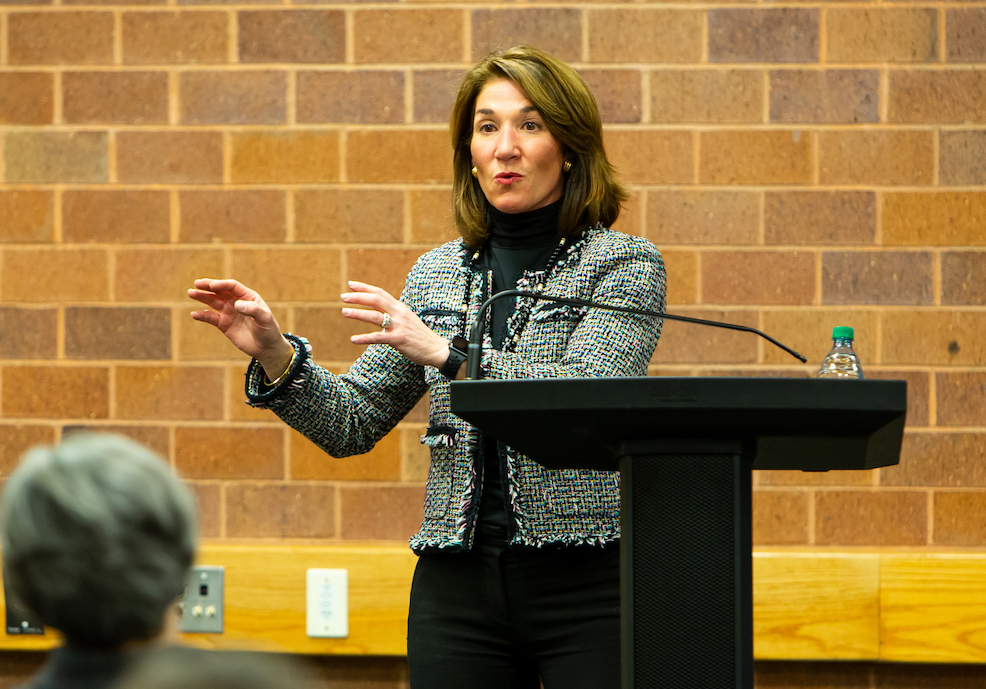 Polito Shares Lessons from Career, Time at BC