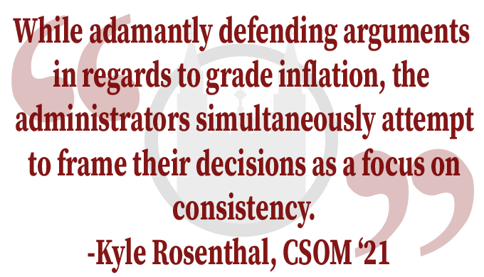 "LTE In Response to ""CSOM Establishes Guidelines to Combat Grade Inconsistency"""