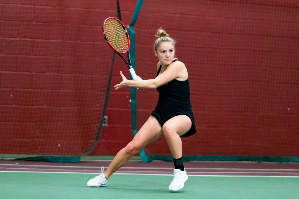 Women's Tennis Extends Perfect Start to Nine Games Against BU and URI