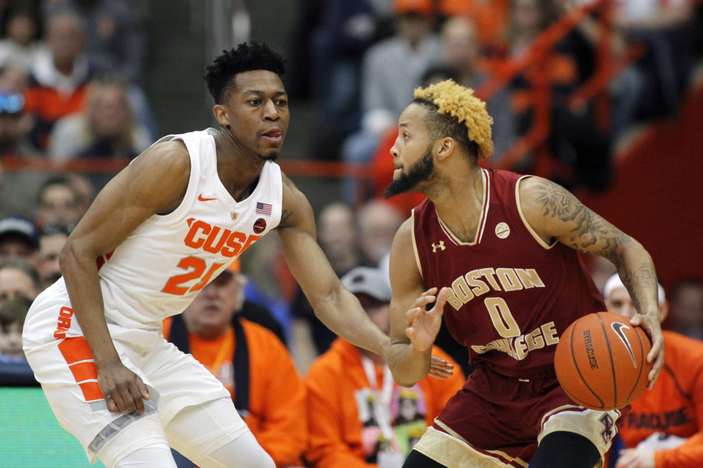 Bowman, Injury-Plagued BC Drop Fourth Straight After Poor Showing in Syracuse