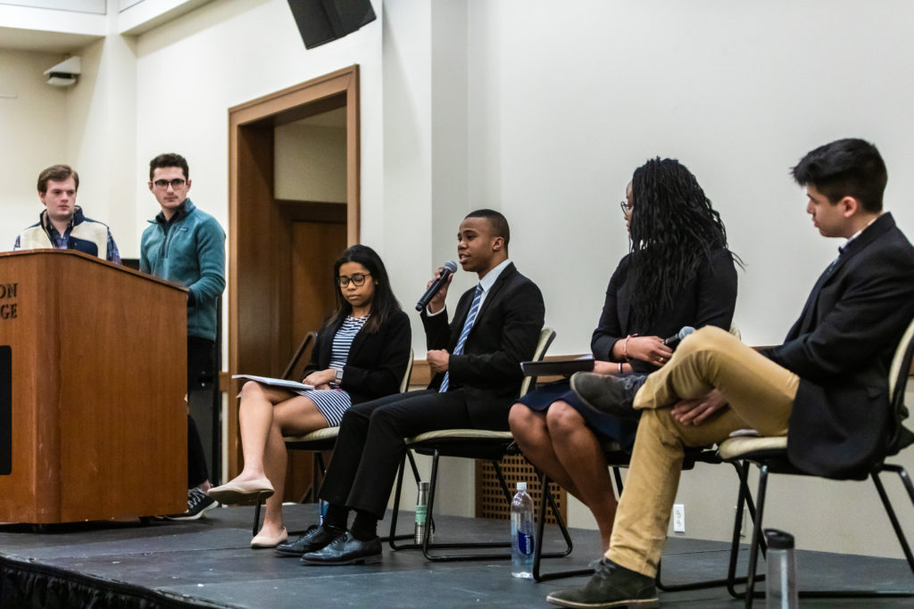 At Debate, UGBC Teams Agree on Diversity and Inclusion
