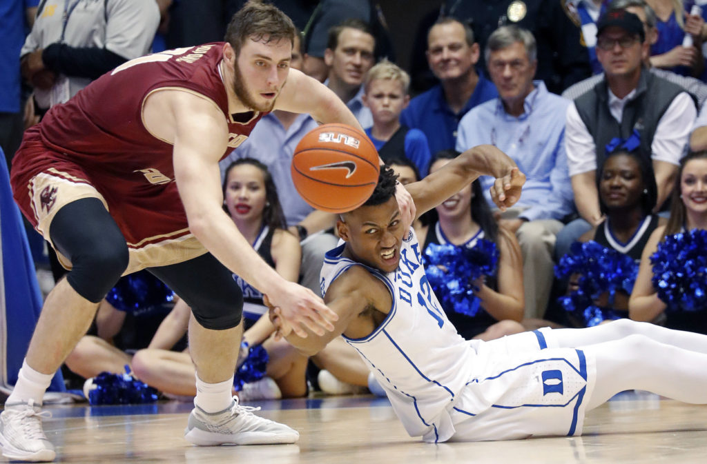 Notebook: BC Dominated Inside in Second Half, Blown Out by Duke