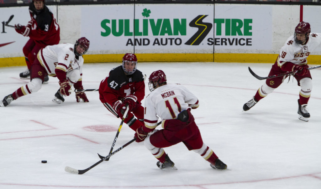 Notebook: Penalty Kill, Freshmen Star as Eagles End Beanpot Misery