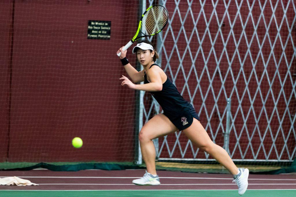 Women's Tennis Maintains Perfect Start, Beats Harvard and No. 10 Syracuse