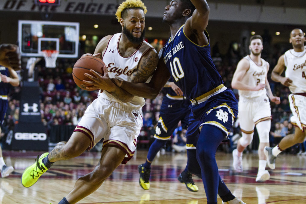 Djogo-Led Notre Dame Beats BC, Secures Sixth Straight Holy War Sweep