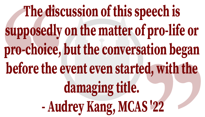 """Letter to the Editor In Response to: """"Upcoming 'Lies Feminists Tell' Event Sparks Controversy on Campus"""""""