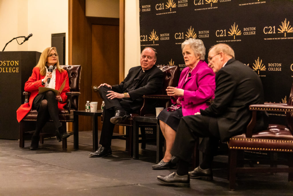 Leahy, University Presidents Discuss Church's Renewal