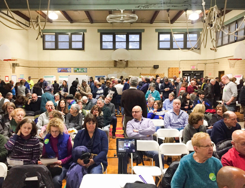 Newton Residents Gather for Second Public Meeting on Riverside Vision Project