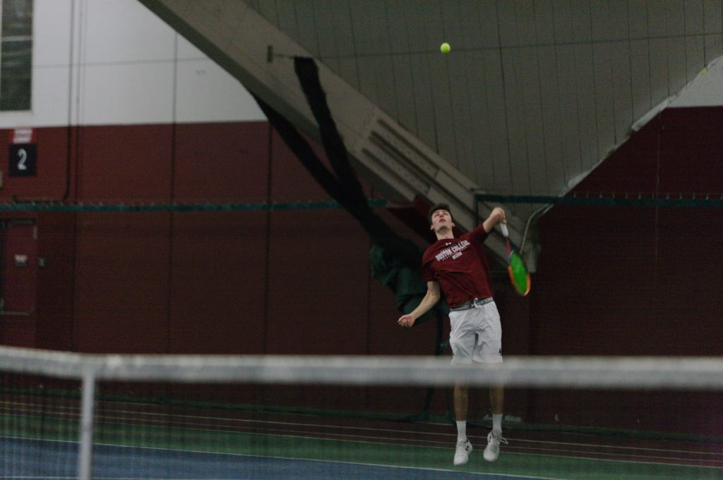 Men's Tennis Swept by Virginia Tech