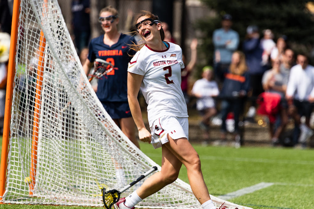 Apuzzo's Six Goals Lead Eagles to Comfortable Win Over No. 7 Virginia