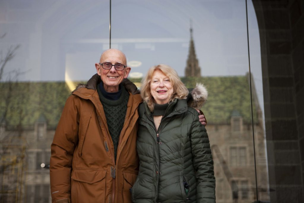 A Fifty Year French Love Story: Jeff and Margaret Flagg