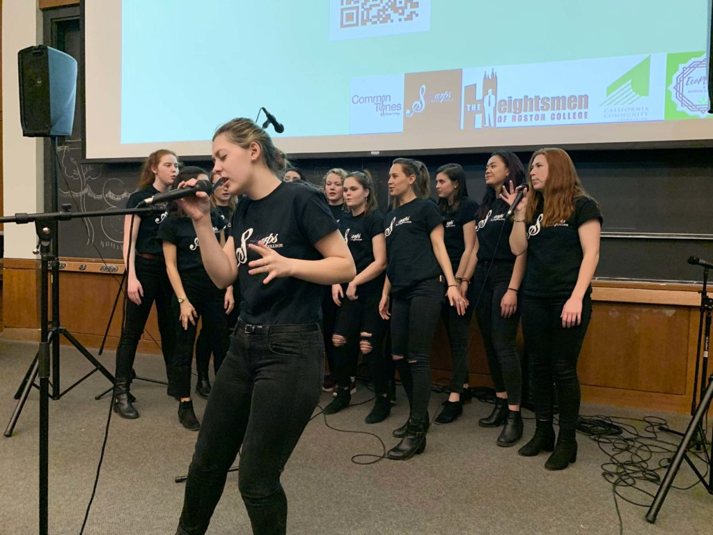 EcoPledge Ignites Awareness of Wildfires with A Cappella