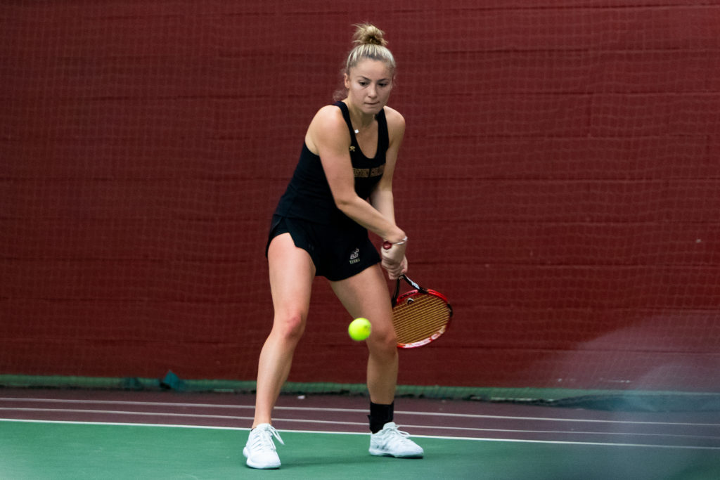 Women's Tennis Falls to Georgia Tech to End Weekend
