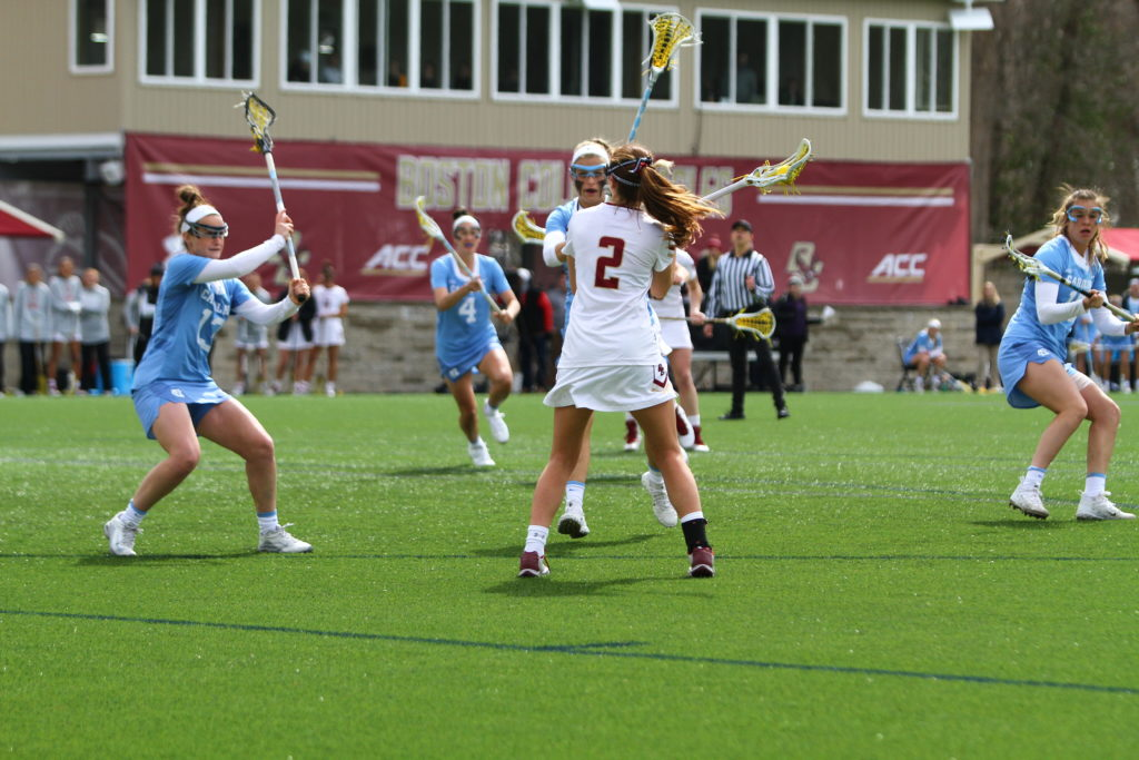 Notebook: Apuzzo, Ngai Help BC Take Down No. 3 Tar Heels