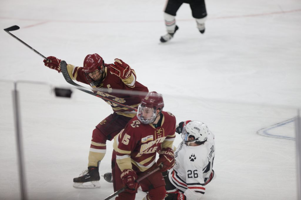 Notebook: Late Push Unable to Overcome Slow Start Against Northeastern in Title Game