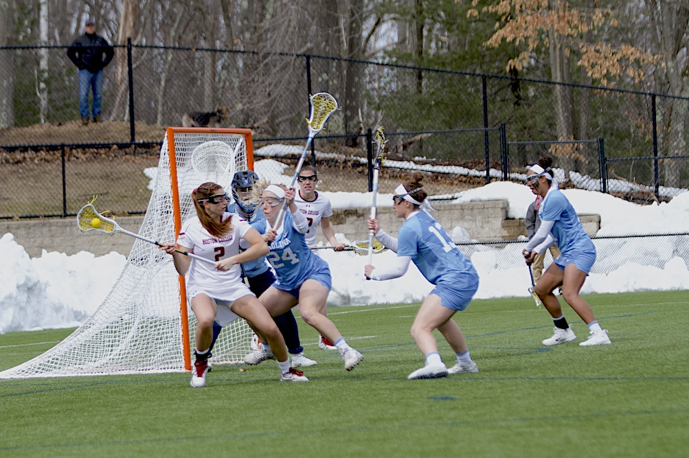 No. 1 Eagles Avenge ACC Championship Loss, Stifle No. 3 UNC