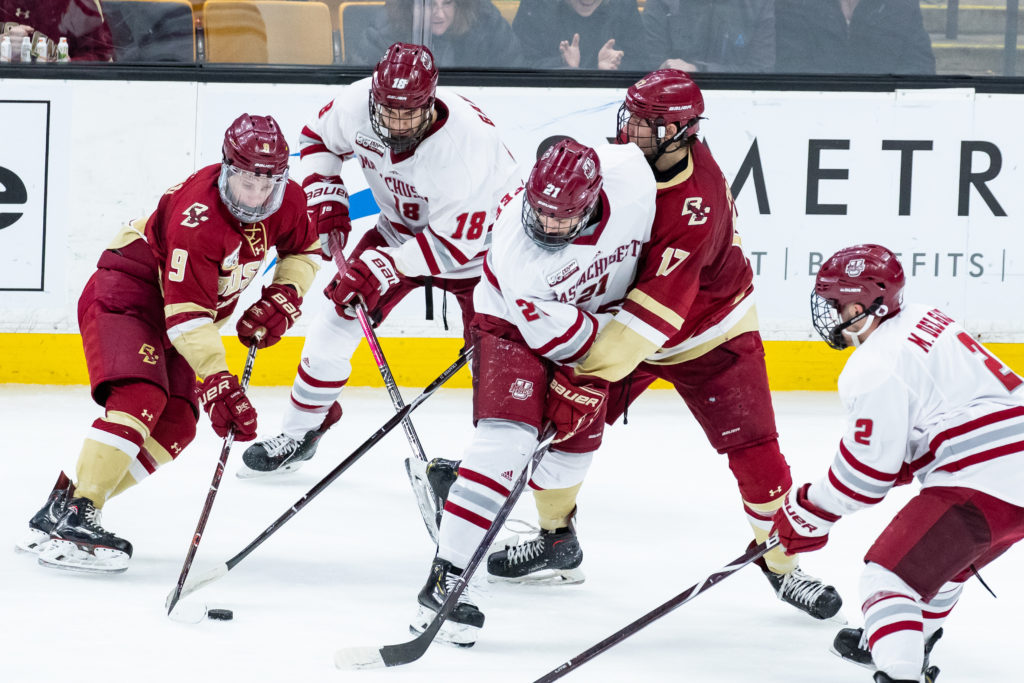 Notebook: Defense, Balanced Attack Lift Eagles to Hockey East Title Game