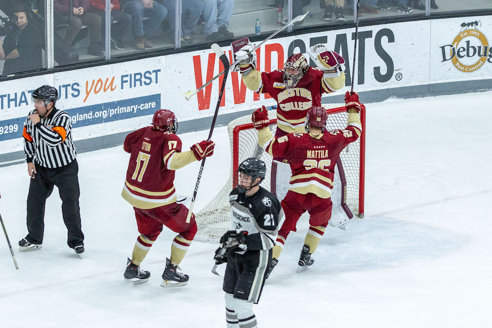 Notebook: Eagles Return to Hockey Semifinals for Fourth Straight Year