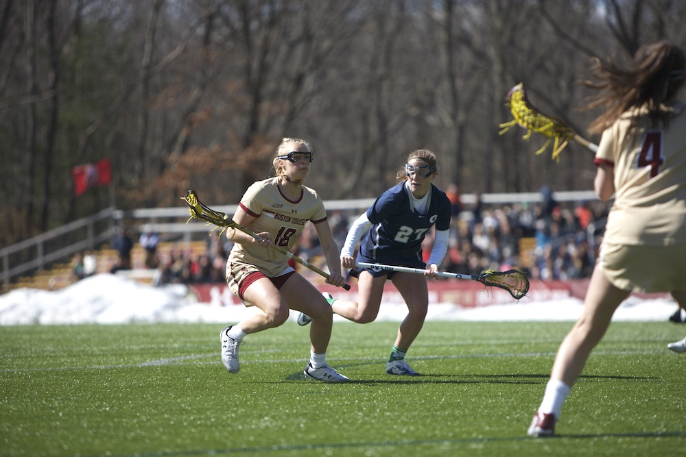 Walker-Weinstein Earns 100th Career Win as BC Dominates No. 21 Georgetown