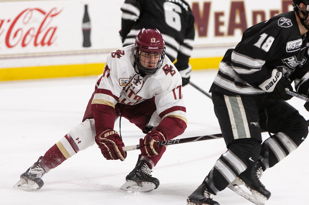 Hockey East Quarterfinals Preview: BC vs. Providence