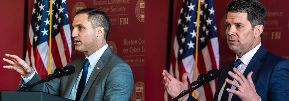 FBI Deputy Director, Special Agent in Charge of Boston Division Discuss Bureau's Cyber Concentration, Recruiting Efforts