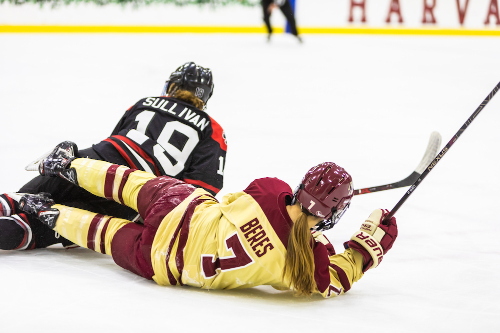 BC Forces Overtime With Late Goal, But Falls to Northeastern in Hockey East Title Game