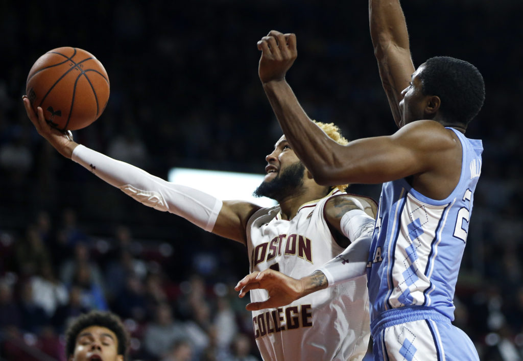 Despite Bowman's 23 Points, Eagles Outclassed Against UNC