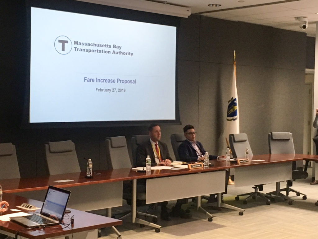MBTA Hosts Public Hearing on Planned Fare Hike